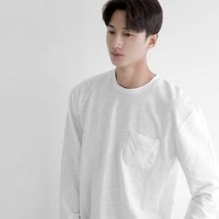 Seoul Homme - Pocket-Trim T-Shirt