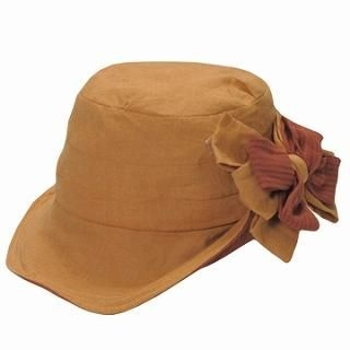 GRACE - Flower-Accent Hat
