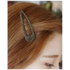 Miss21 Korea - Rhinestone Hair Barrette