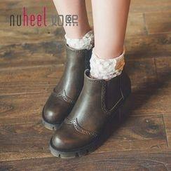 Nuheel - Platform Ankle Boots