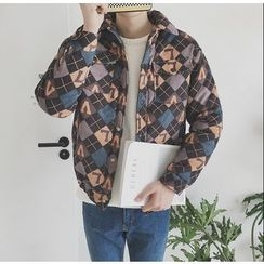 Bestrooy - Argyle Padded Jacket