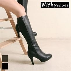 Wifky - High-Heel Tall Boots