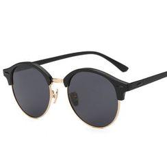 ROUPAI - Retro Round Sunglasses