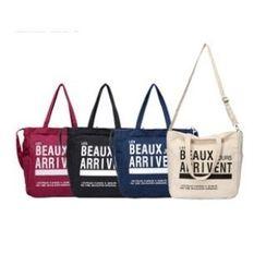 LISEN - Lettering Shopper Bag