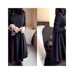 MASoeur - Turtle- Neck A-Line Dress