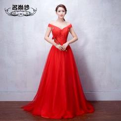 MSSBridal - Off-shoulder Wedding Dress