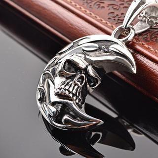 Trend Cool - Skull Titanium Steel Necklace