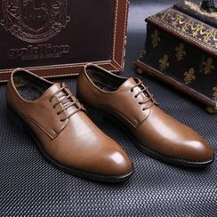 Shino - Lace-Up Oxfords / Paneled Loafers