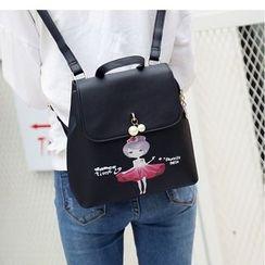 Merlain - Printed Backpack