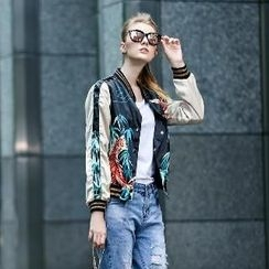 Romantica - Printed Buttoned Jacket