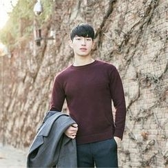 STYLEMAN - Wool-Blend Colored Sweater