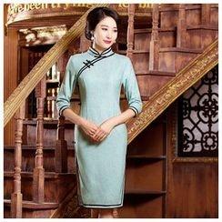 Maura Qipao - 七分袖旗袍