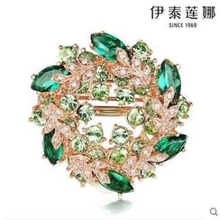 Italina - Swarovski Elements Crystal Brooch