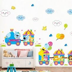 LESIGN - Kids Animal Print Wall Sticker