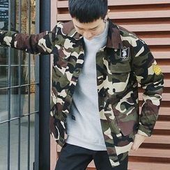 ZZP HOMME - Camouflage Button Jacket