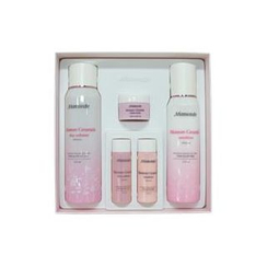 Mamonde - Moisture Ceramide Set: Skin Softener 200ml + 25ml + Emulsion 150ml + 25ml + Intense Cream 15ml
