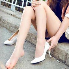 花小朵 - 仿勾丝袜裤