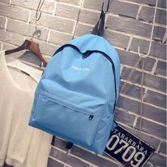 Aoba - Letter Canvas Backpack