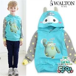 WALTON kids - Boys Hooded Printed Pullover