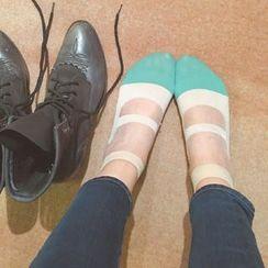 MITU - 芭蕾舞透明玻璃絲短襪