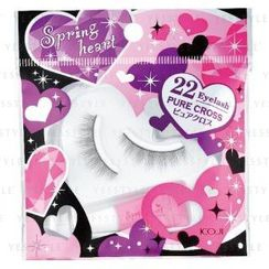 Koji - Spring Heart Eyelash (#22 Pure Cross)