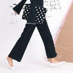 Porta - Knit Wide-leg Pants