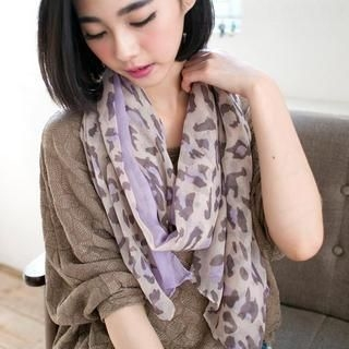 CatWorld - Leopard-Print Scarf