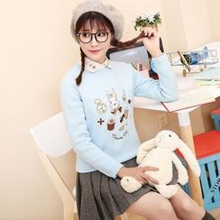 NiFFe - Embroidery Sweater