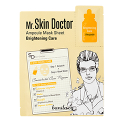 banila co. - Mr Skin Doctor Ampoule Mask Sheet - Brightening Care