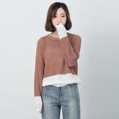 BORAN - Color Block Sweater