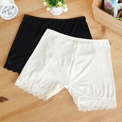 59 Seconds - Lace Trim Under Shorts