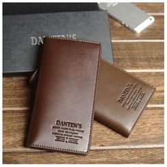 DANTEN'S - Faux Leather Long Wallet