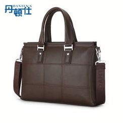 DANTEN'S - Faux Leather Briefcase