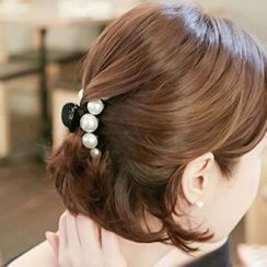 Miss Floral - Faux Pearl Hair Claw