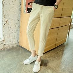 Gurun Vani - Plain Linen Cotton Pants