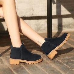 Renben - Block Heel Ankle Boots