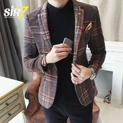 SIRIUS - Plaid Blazer