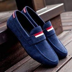 Tabris - Contrast Trim Loafers