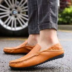 Tabris - Faux Leather Loafers