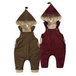 MOM Kiss - Baby Hooded Jumper Pants