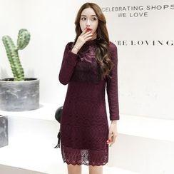 Romantica - Long-Sleeve Lace Dress
