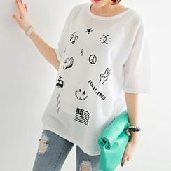 Ranee - Short-Sleeve Printed T-Shirt