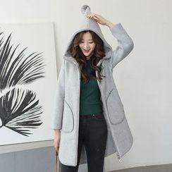 AiSun - Hooded Long Coat