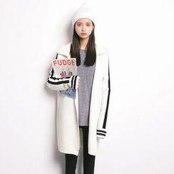 MIKPO - Stripe Knit Jacket