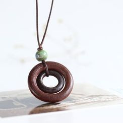 Porcelana - 陶瓷吊坠项链