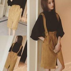 MayFair - Slit Front Jumper Skirt