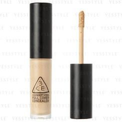3 CONCEPT EYES - Full Cover Concealer (#002 Soft Beige)