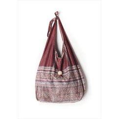 GOROKE - Patterned Light Shopper Bag