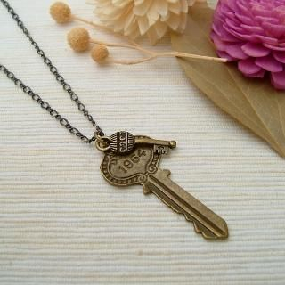 MyLittleThing - Double Keys Necklace