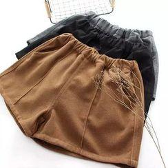 Moricode - Panel Knit Shorts